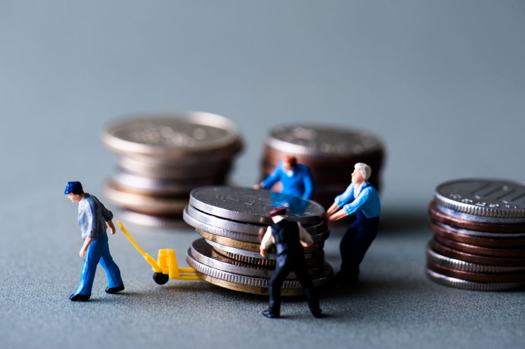 お金の運搬